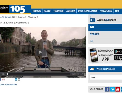 Greenjoy op TV – Haarlem 105 – 023 in de zomer