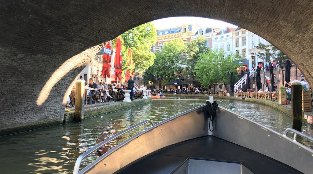 Visit Utrecht - rent a boat to explore the canals
