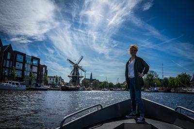 Vaartips in Haarlem