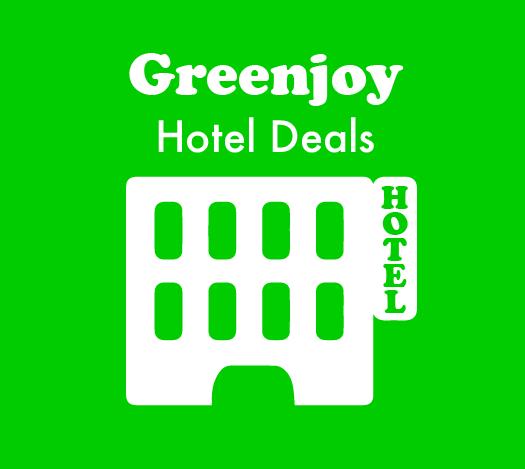 Greenjoy Hotel Deals - gasten varen met korting