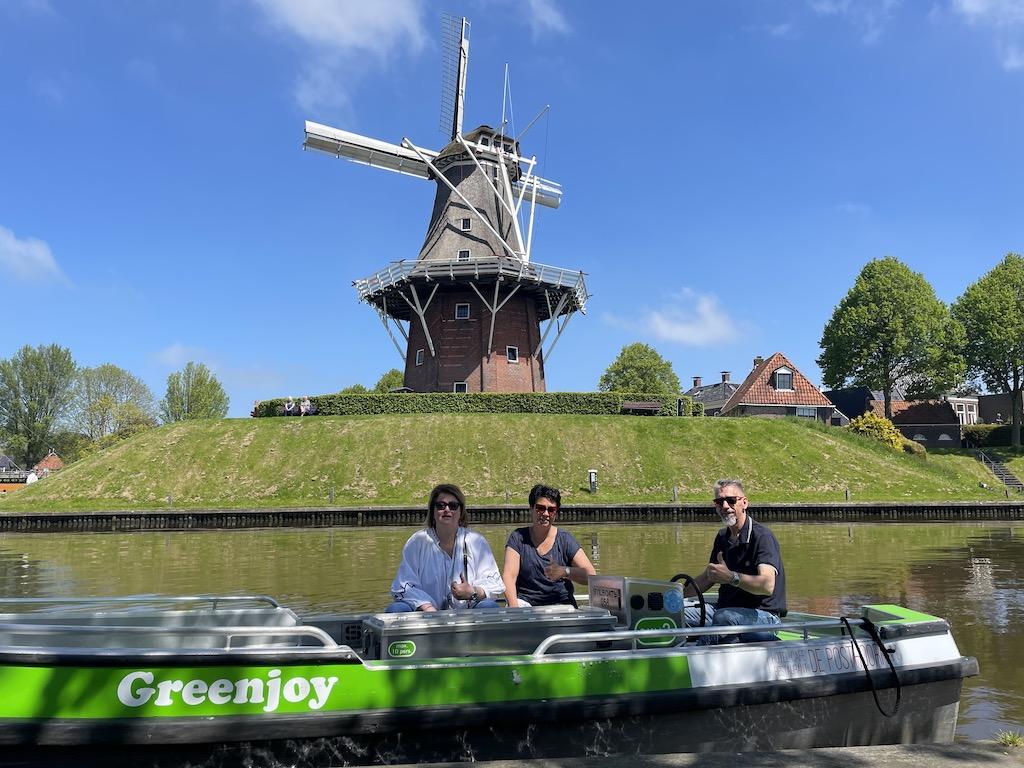 Opening Greenjoy sloepverhuur Dokkum - Friesland